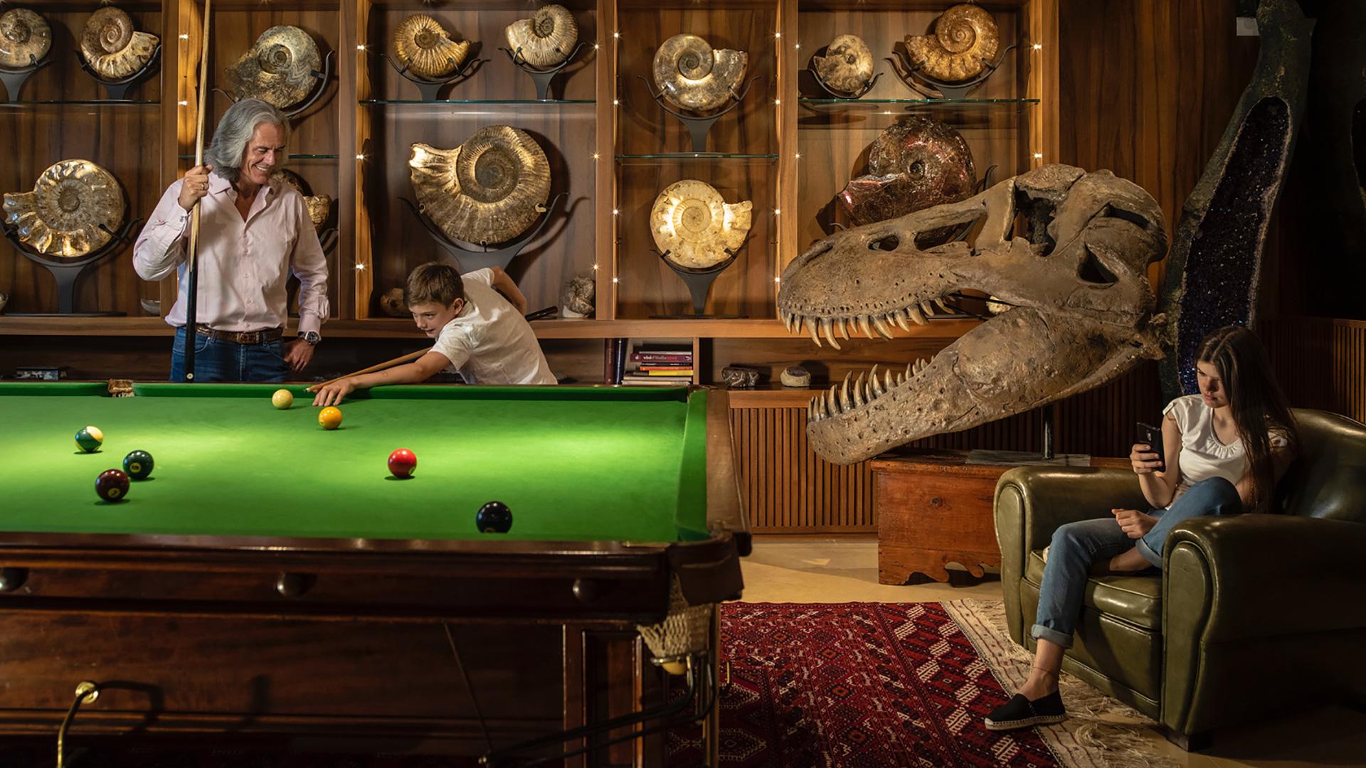 Un dinosauro in salotto