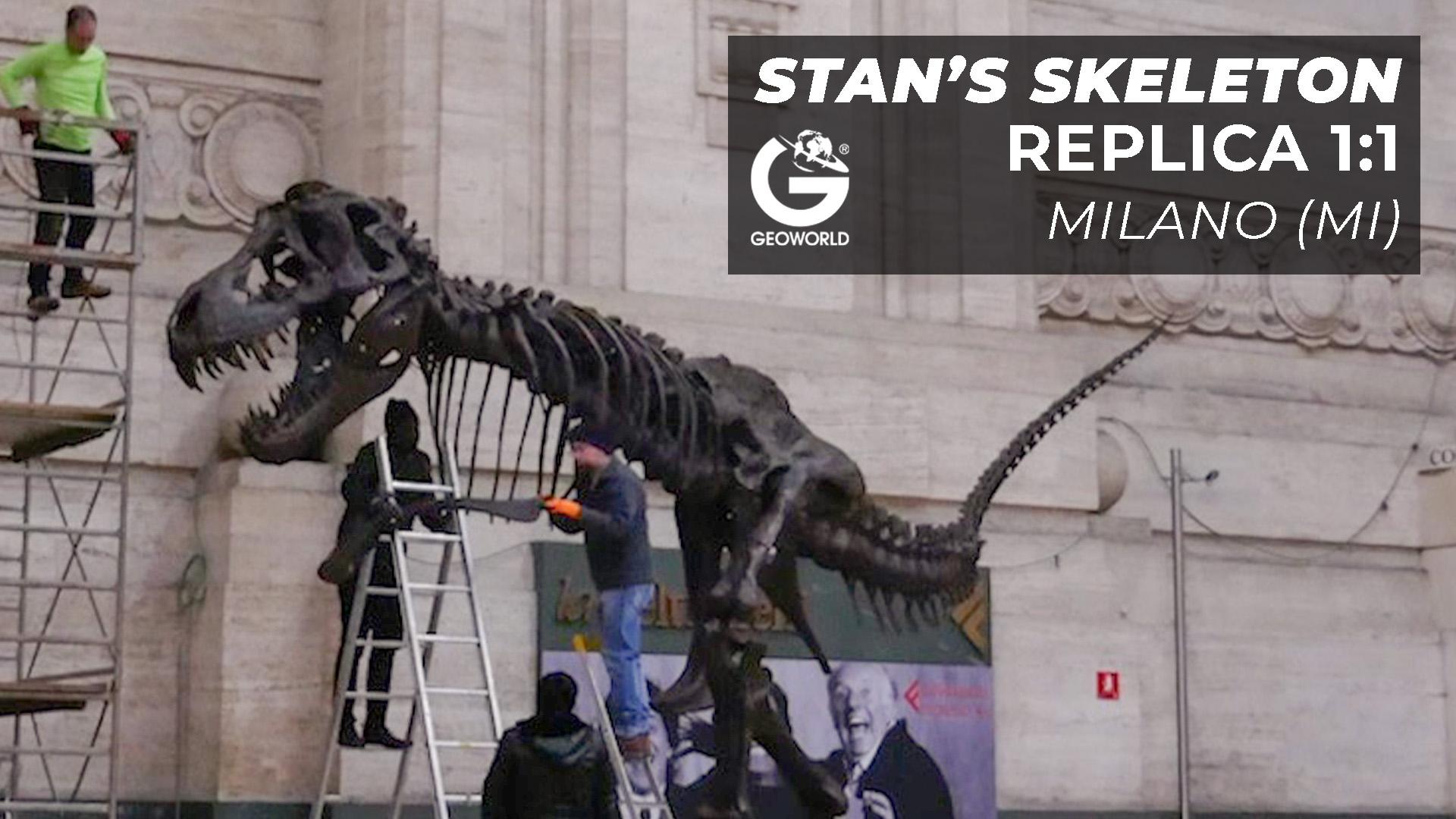 Stan's skeleton – Milano
